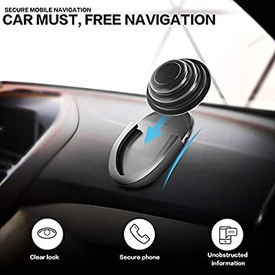 WERONE [2 Packs] Car Phone Mount for Grips Stand and Grips,Most Stable & Durable Cell Phone Holde