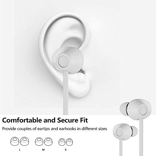 Sports Wireless Earbuds Bluetooth 5.0 IPX7 Waterproof Sweatproof in Ear Mini Stereo Sound Wireless Earphones Headphones with Charging Case Micro for Running Sport Gym Game