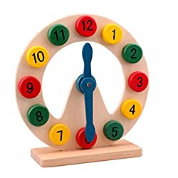 SSBY Moon color digital clock clock early childhood early education teaching aids