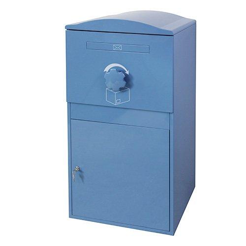 【日本初上陸】Brizebox(ブライズボックス)デザイン性と機能性を兼ね備えた シンプルでスマートな宅配ボックス Ex-Large Size(エクストララージ)【全8色】 (ブルー) B0757LHZ9Z
