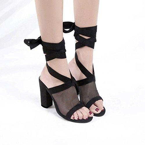 Sandali Con Tacco Donna Inkach - Sandalo Con Tacco Alto Da Donna Sandalo Con Tacco Alto E Scarpe Col Tacco Nero