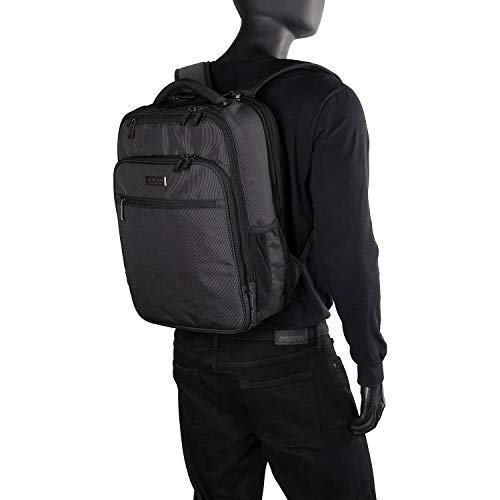 """41c2Kmv5zKL - Kenneth Cole Reaction Brooklyn Commuter 16"""" Backpack Pink Dot Charcoal One Size"""