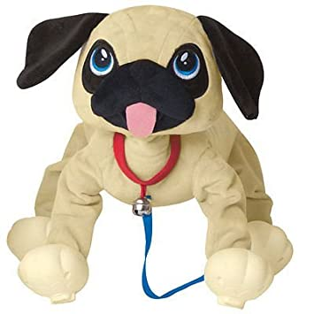Amazon Com Commonwealth Toys Peppy Pups Pug Toys Games