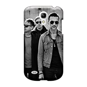 Shock Absorbent Hard Phone Cover For Samsung Galaxy S4 Mini With Unique Design Attractive Depeche Mode Band Skin Iphonecase88