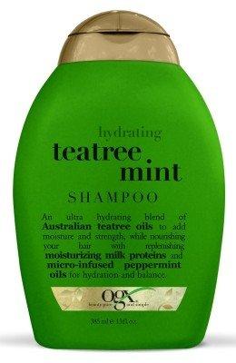 Ogx Shampoo Tea Tree Mint Hydrating 13 Ounce (384ml) (3 Pack)