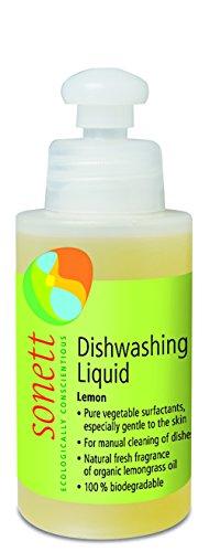 Sonett Lemon Dishwashing Liquid (4 fl oz/120 mL) (Ounce 4 Soap Eco)