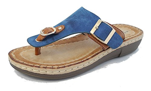 Boulevard - Sandalias de vestir para mujer Azul