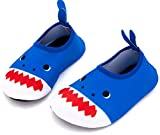 Giotto Kids Swim Water Shoes Quick Dry Non-Slip for Boys & Girls,Blue, 32-33