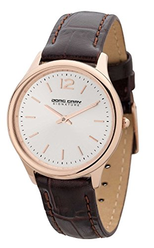 Jorg Gray JGS2561 - Wristwatch, Women, Leather, Color: marrone