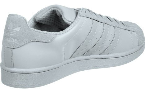 Adidas Mannen Superster Sneakers Grijs