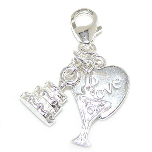 925 Sterling Silver Dangling