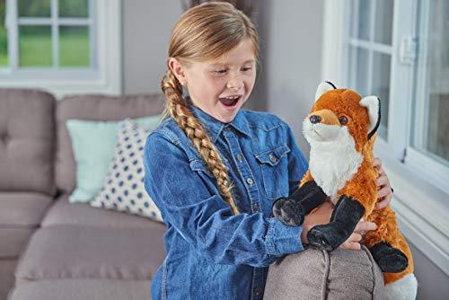 41c2McbsU1L - Wild Republic Red Fox Plush, Stuffed Animal, Plush Toy, Gifts For Kids, Cuddlekins 12 Inches