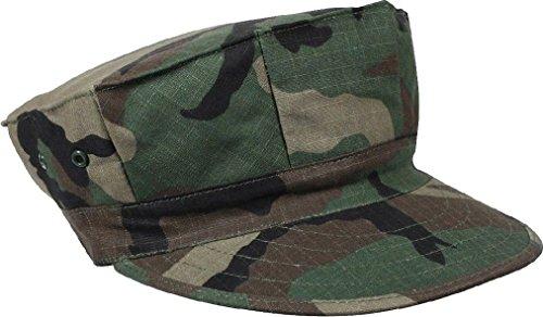 Marines BDU Cap 8 Point Military Fatigue Hat Utility Cover Uniform Camo ()