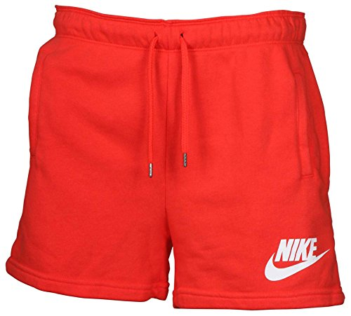 NIKE Women's Rally Sport Casual Shorts-Bright - Bright Shorts Terry