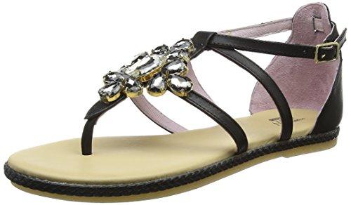 Sandali Da Donna Stonefly Ladies Lux 5 (405-11) Nero Cinturino Alla Caviglia (nero 000)