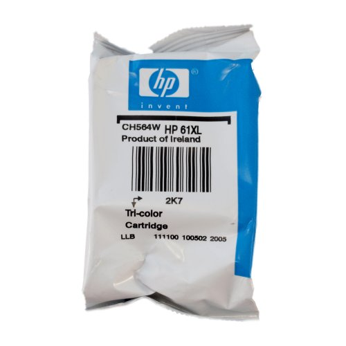 Genuine HP 61XL High Yield Tri-color Original Ink Cartridge, Office Central
