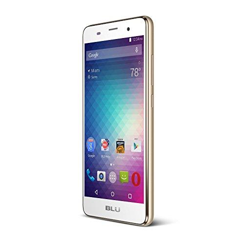 BLU DASH X2-5.0 Smartphone - US GSM Unlocked -Gold