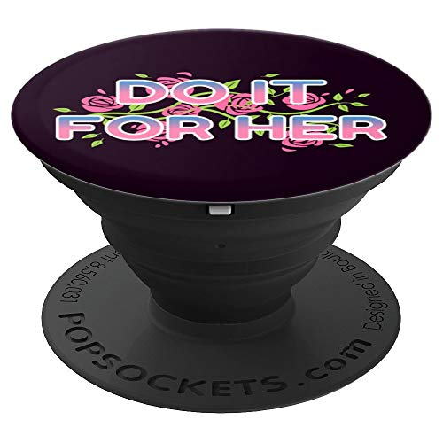 Do It for Her - Beautiful Universe Gem Socket - PopSockets Grip and Stand for Phones and Tablets