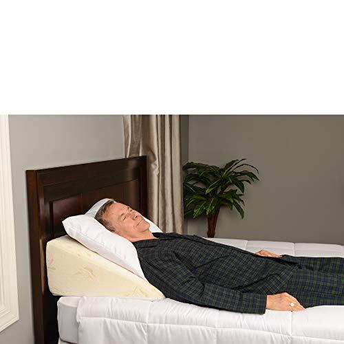 Elegant Memory Foam Bed Wedge Pillow Adds Comfort For