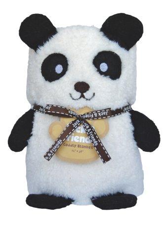 Towel Treat Plush Blanket, Panda