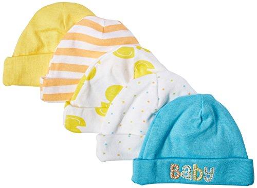 Gerber Unisex Baby Pack Caps