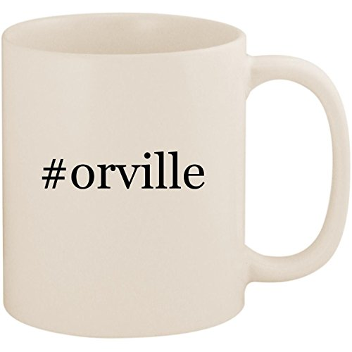 #orville - 11oz Ceramic Coffee Mug Cup, White