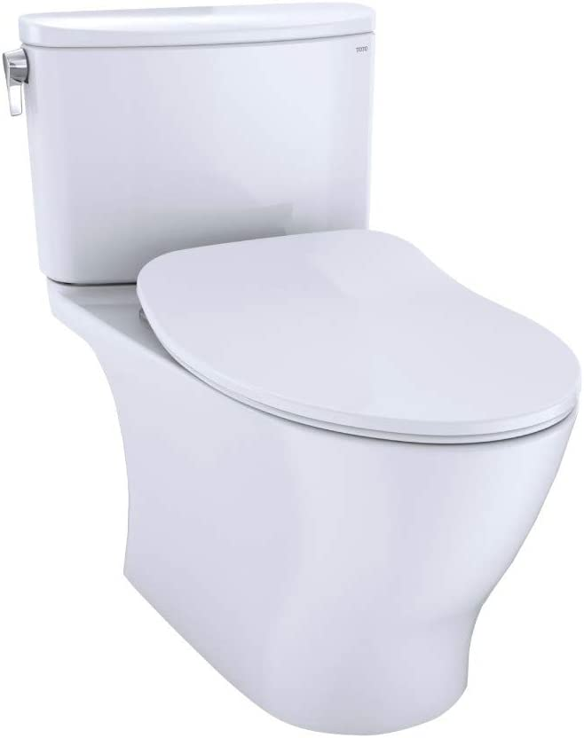 Toto Ms442234cefg 01 Nexus 1 28 Gpf Two Piece Elongated Chair Height Toilet With Tornado Flush Technology Seat Included