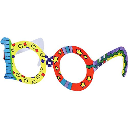 Really Good Stuff 100th Day Glasses - Set of 24