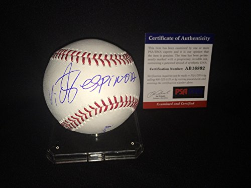 Autographed Triple Crown - Victor Espinoza Signed Major League Baseball Triple Crown American Pharoh - PSA/DNA Certified - Autographed Horse Racing Miscellaneous Memorabilia