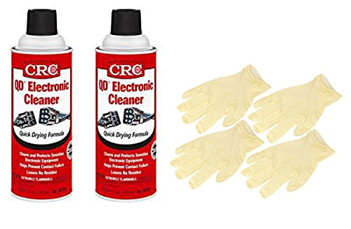 CRC Quick Dry Electronics Cleaner (11 oz) - 2 Pack