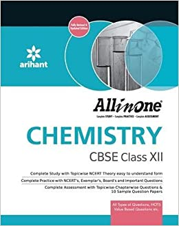 Buy Arihant All in One Chemistry CBSE Class - XII, (for 2017