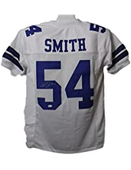 e4c40b315 ... COA) JSA Witnessed Jaylon Smith Autographed Dallas Cowboys White Size XL  Jersey JSA ...