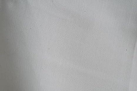Organic Cotton Plus Algodón orgánico Tela de satén de 230 Hilos – 113 (– Blanco – por el Patio: Amazon.es: Hogar