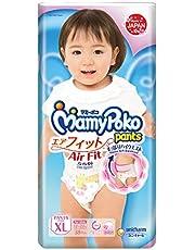 MamyPoko Air Fit Pants Girl, XL, 38ct (Packaging may vary)
