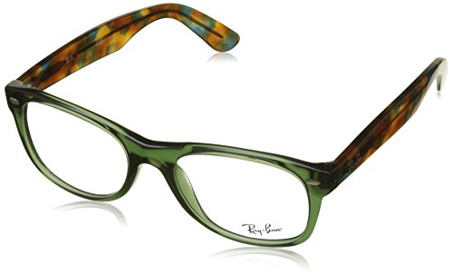 Ray-Ban RX5184 New Wayfarer Eyeglasses Opal Green - Prescription Bans Wayfarer Ray