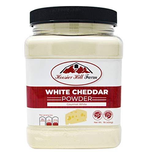 Hoosier Hill Farm White Cheddar Cheese Powder, 1 Pound ()