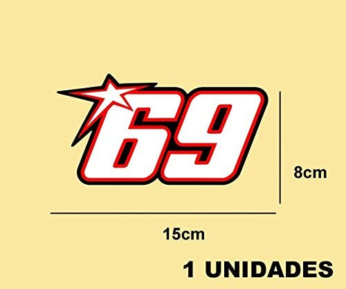 Pd305 Aufkleber Autocollants Adesivi Moto GP Decals Motorcycle Ecoshirt JI-2S8S-DCDX Pegatinas Stickers Nicky Hayden Ref
