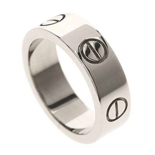 [カルティエ]ラブリング リング指輪 K18ホワイトゴールド レディース (中古) B07F23X88Z