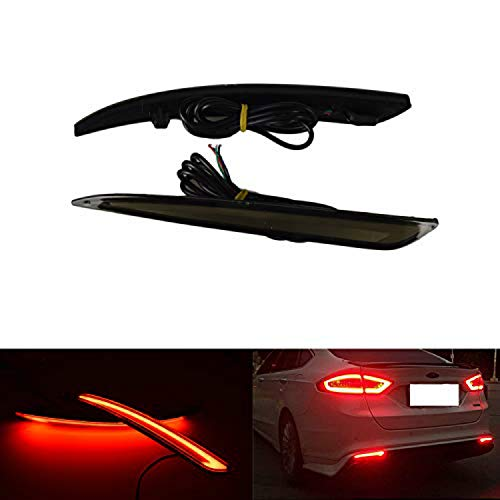 REAR BUMPER PROTECTOR compatible with FORD FUSION 2002-2014