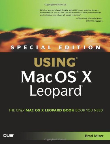 [B.e.s.t] Special Edition Using Mac OS X Leopard RAR