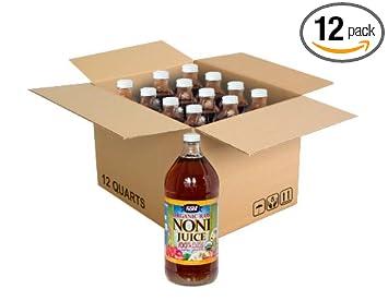 Amazon.com: Orgánico hawaiano zumo de Noni – 1 Full caso de ...