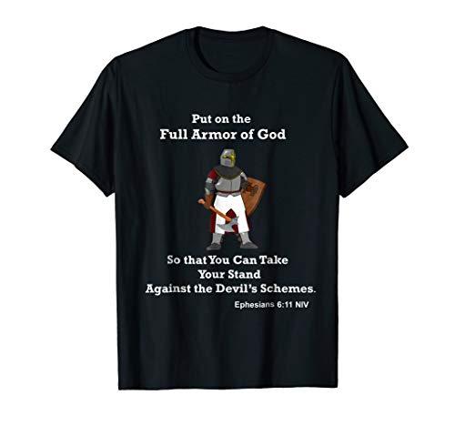Christian Armor of God Tshirt Costume Bible Verse T -