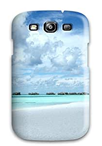 CaseyKBrown Case Cover For Galaxy S3 - Retailer Packaging Clouds At Paradise Beach Protective Case