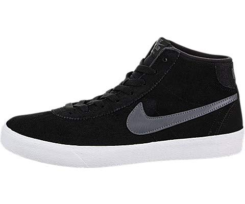 Galleon - Nike Women s SB Bruin Hi Black Dark Grey White Skate Shoe 8.5  Women US a0b6d98b4