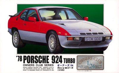 ■'78ポルシェ924ターボ(24) (1/24)オーナーズクラブ(プラモデル)【マイクロエース・アリイ】の商品画像