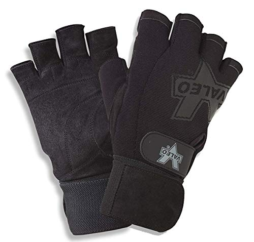(Valeo Performance Wrist Wrap Gloves, XL)