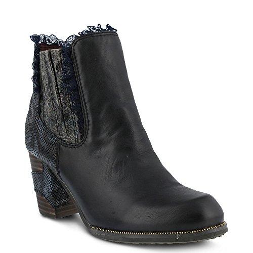 Bata Shoe (L'Artiste by Spring Step Women's Bata Boot, Black, 40 EU/9 M US)