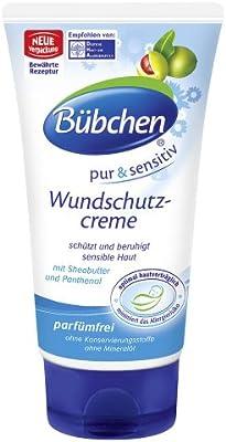 Bubchen Bübchen Pure & Sensitive Wound Protection Cream fragrance-free 2.54 oz. - 75ml