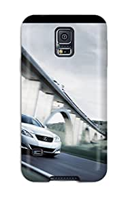 Heimie Perfect Tpu Case For Galaxy S5/ Anti-scratch Protector Case (lexus Is 250 Speedy Front Street Bridge Cars Other)