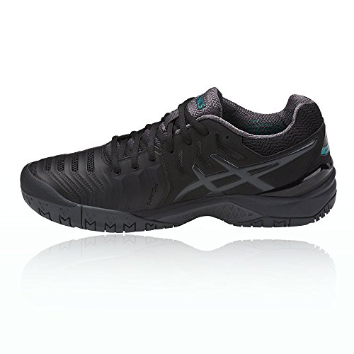 wide range of online Asics Gel-Resolution 7 Men's Tennis Shoes (E701Y) Black / Dark Grey / Lapis comfortable for sale clearance low cost Vh7AB